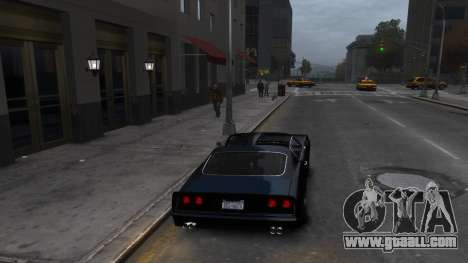 Classic Muscle Phoenix IV for GTA 4 right view