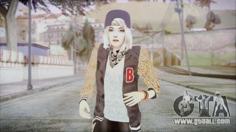 Home Girl Chola 2 for GTA San Andreas