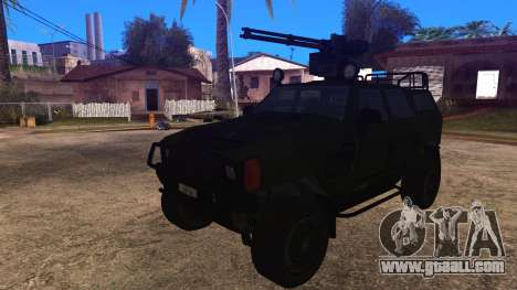 Komatsu LAV 4x4 with Vulcan Gatling Gun for GTA San Andreas