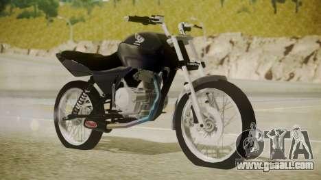 Honda Titan CG150 Stunt for GTA San Andreas