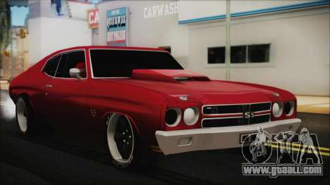 Chevrolet Chevelle Drag Car for GTA San Andreas
