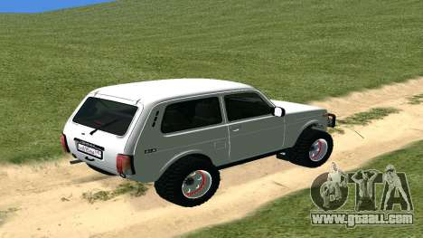 Lada Urban OFF ROAD for GTA San Andreas right view