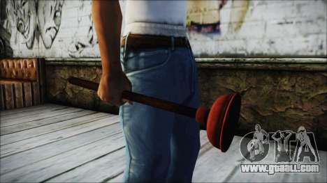 Plunger HD for GTA San Andreas second screenshot