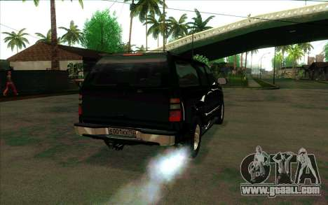 Chevrolet Suburban FSB for GTA San Andreas right view