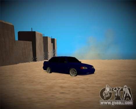 VAZ-2115 for GTA San Andreas inner view