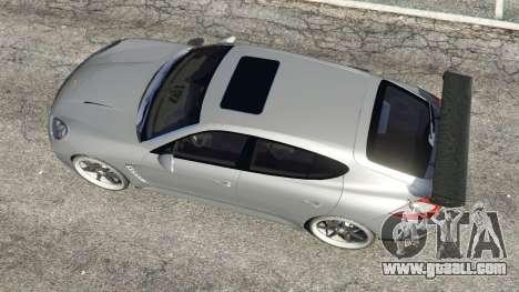 Porsche Panamera Turbo 2010 for GTA 5