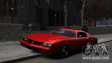 Classic Muscle Phoenix IV for GTA 4