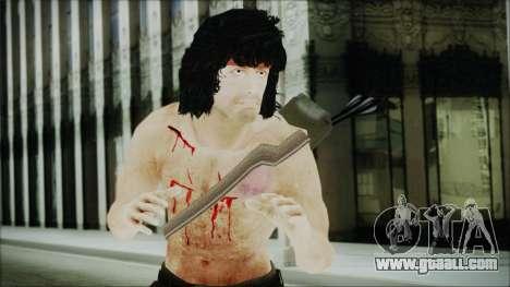 Rambo Skin for GTA San Andreas