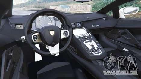 GTA 5 Lamborghini Aventador LP700-4 Dutch Police v5.5 rear right side view