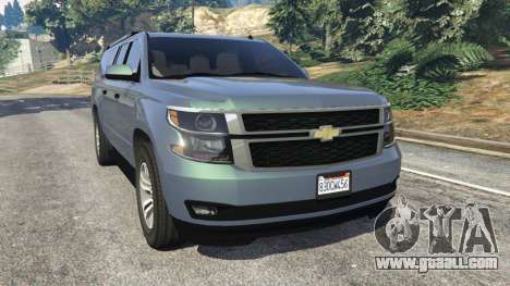Chevrolet Suburban 2015 [unlocked] for GTA 5