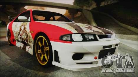 Nissan Skyline R33 Kantai Collection Kongou for GTA San Andreas
