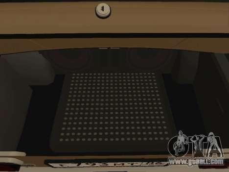 Vaz 2101 V1 for GTA San Andreas inner view
