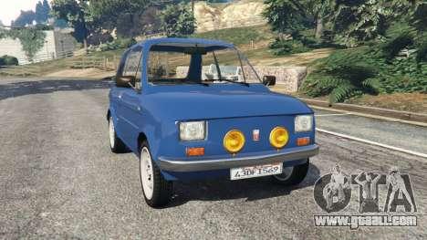 Fiat 126p v1.1 for GTA 5