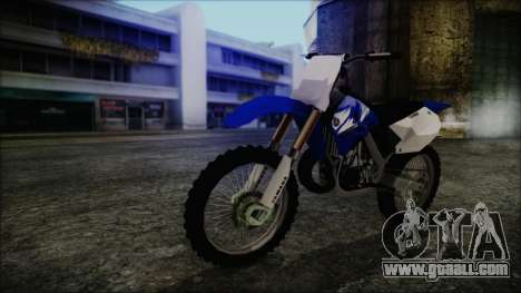 Yamaha YZ250 for GTA San Andreas
