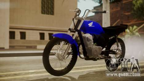 Honda CB1 for GTA San Andreas