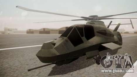 AH-99 Blackfoot for GTA San Andreas