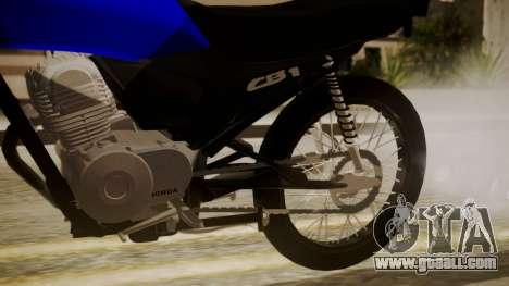 Honda CB1 for GTA San Andreas right view