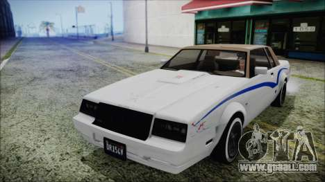 GTA 5 Willard Faction Custom without Extra Int. for GTA San Andreas side view