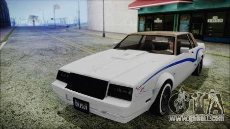 GTA 5 Willard Faction Custom Bobble Version for GTA San Andreas side view