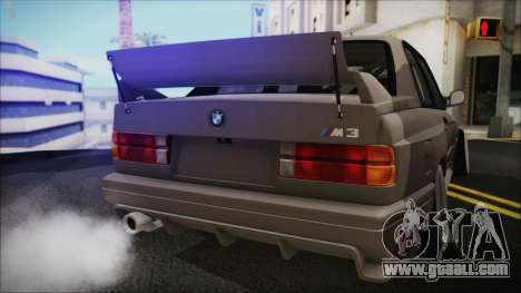 BMW M3 E30 Camber for GTA San Andreas right view
