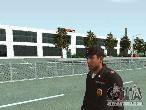 The Sergeant of PPS in the form of the new sampl for GTA San Andreas third screenshot