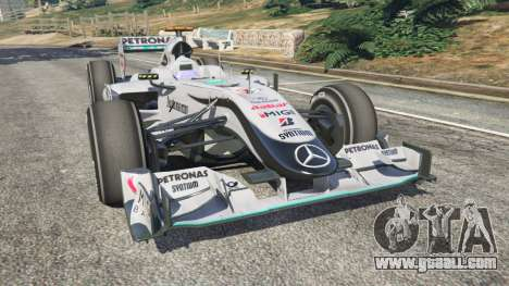 Mercedes-Benz MGP W01 [Michael Schumacher] v1.1 for GTA 5