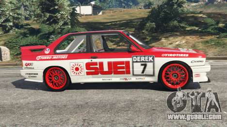 GTA 5 BMW M3 (E30) 1991 [Suei] v1.2 left side view
