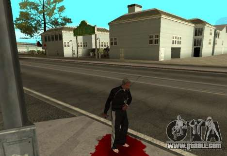 Realistic Death for GTA San Andreas