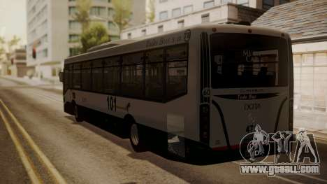 Todo Bus Agrale MT17.0LE AA for GTA San Andreas left view