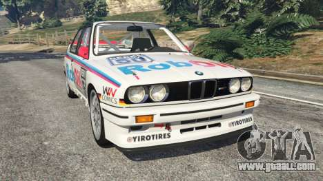 BMW M3 (E30) 1991 v1.2 for GTA 5
