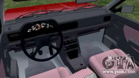 Daewoo-FSO Polonez Cargo Van Plus 1999 for GTA 4 back view
