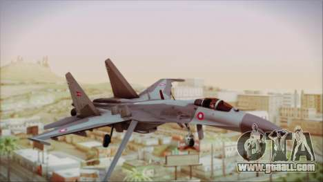 Sukhoi SU-27 Royal Danish Air Force for GTA San Andreas