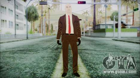 Hitman Absolution Agent 47 for GTA San Andreas second screenshot