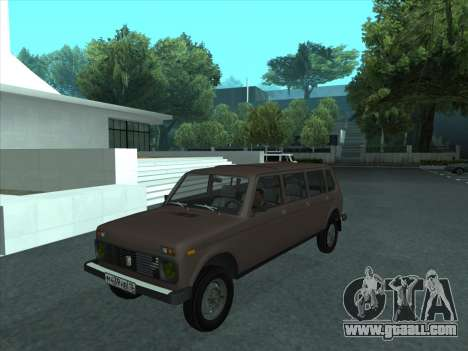 VAZ 2131 Samudera for GTA San Andreas