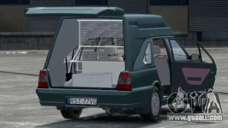 Daewoo-FSO Polonez Cargo Van Plus 1999 for GTA 4 right view