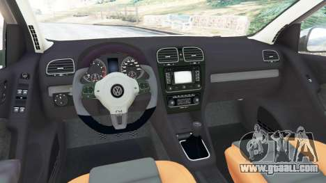 Volkswagen Golf Mk6 v2.0 [Slipknot] for GTA 5