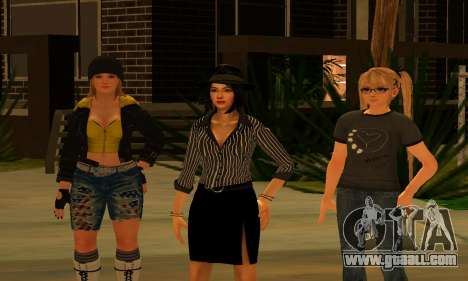 Womens Mega Pack by 7 Pack for GTA San Andreas second screenshot