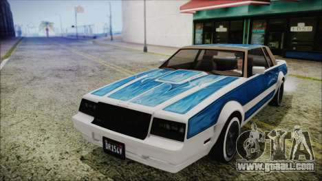 GTA 5 Willard Faction Custom without Extra Int. for GTA San Andreas right view