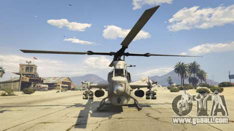 GTA 5 AH-1Z Viper third screenshot