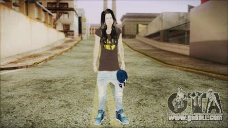 Home Girl SWAG for GTA San Andreas second screenshot