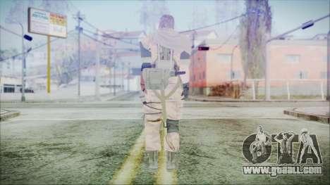 MGSV Phantom Pain Snake Scarf Golden Tiger for GTA San Andreas third screenshot
