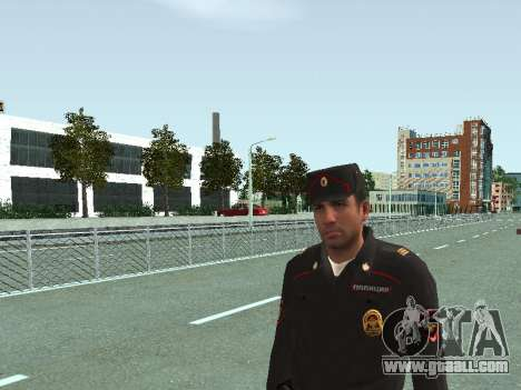 The Sergeant of PPS in the form of the new sampl for GTA San Andreas