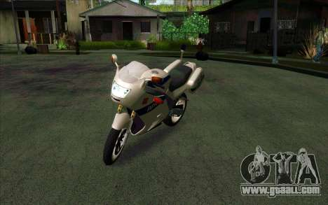 BMW R1200S of Motobot (DPS) for GTA San Andreas right view