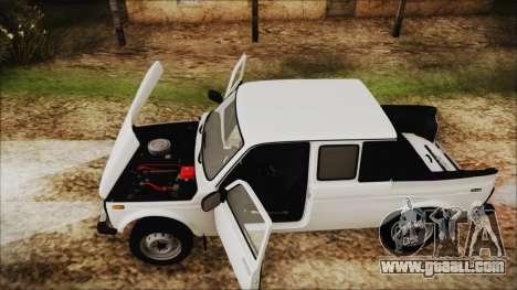 VAZ 2329 Niva 4x4 for GTA San Andreas back view