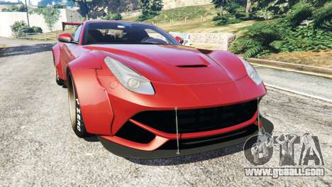 Ferrari F12 Berlinetta [LibertyWalk] v1.2 for GTA 5
