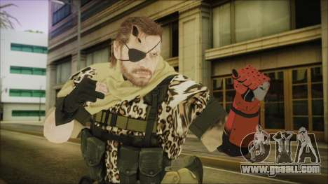MGSV Phantom Pain Snake Scarf Animals for GTA San Andreas