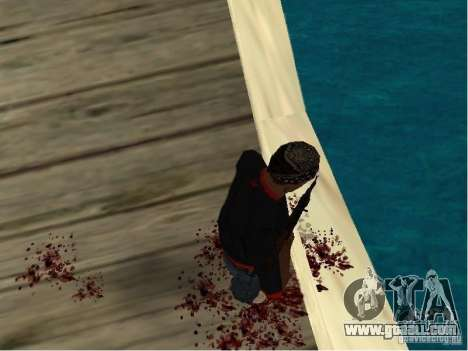 Realistic Death for GTA San Andreas third screenshot