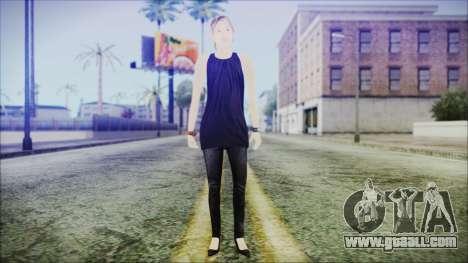 Home Girl Lupita for GTA San Andreas second screenshot