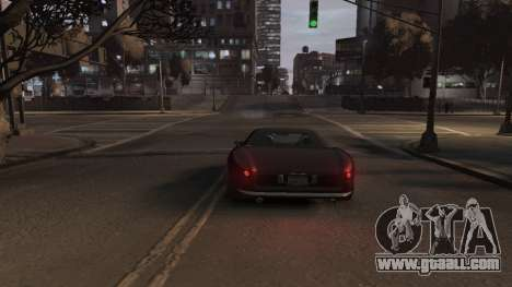 GTA V Stinger Classic for GTA 4 back view