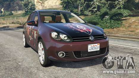 Volkswagen Golf Mk6 v2.0 [Slipknot] for GTA 5